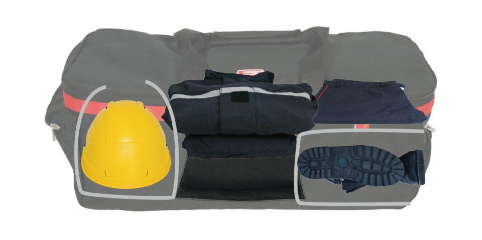 Gear bag high capacity